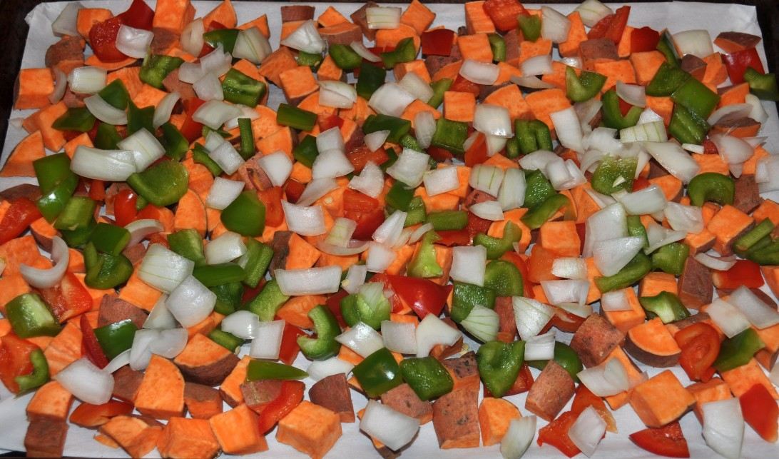 sweet potato hash precooked
